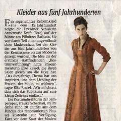 Sächsische Zeitung Dresden, 25. Juni 2012