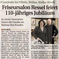 Sächsische Zeitung Dresden, 17. April 2008